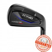 KING FORGED TEC BLACK ONE LENGTH IRON (STEEL SHAFT)