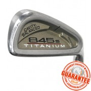 TOMMY ARMOUR 845S TI FACE IRON (STEEL SHAFT)
