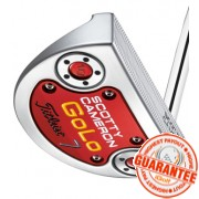 2014 SCOTTY CAMERON GOLO 7 DUAL BALANCE SILVER MIST PUTTER