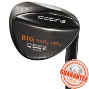 COBRA BIG TRUSTY RUSTY BLACK PVD WEDGE