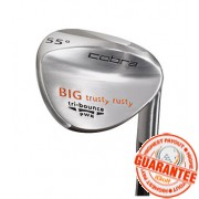 COBRA BIG TRUSTY RUSTY SATIN WEDGE