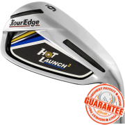 2017 TOUR EDGE HOT LAUNCH 2 IRON (GRAPHITE SHAFT)