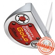 2014 SCOTTY CAMERON GOLO 7 SILVER MIST PUTTER